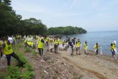 2015.7.12びわ湖の日環境美化活動